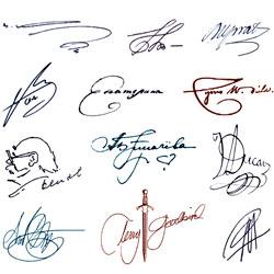 Как сделать подпись в фотошопе