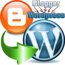 Правильный перенос сайта на Wordpress с Blogger