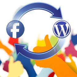 Как встроить пост с Facebook в запись блога